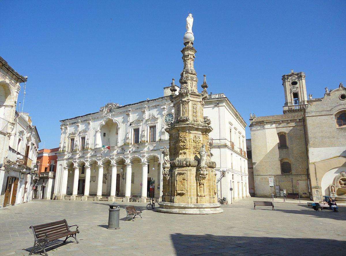 Piazza Salandra di Nardò