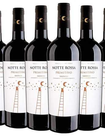 Salento IGT Primitivo 2018 - Notte Rossa - 6 x 0,75 l.