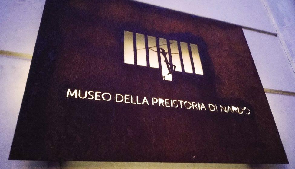 Insegna Museo della Preistoria di Nardò