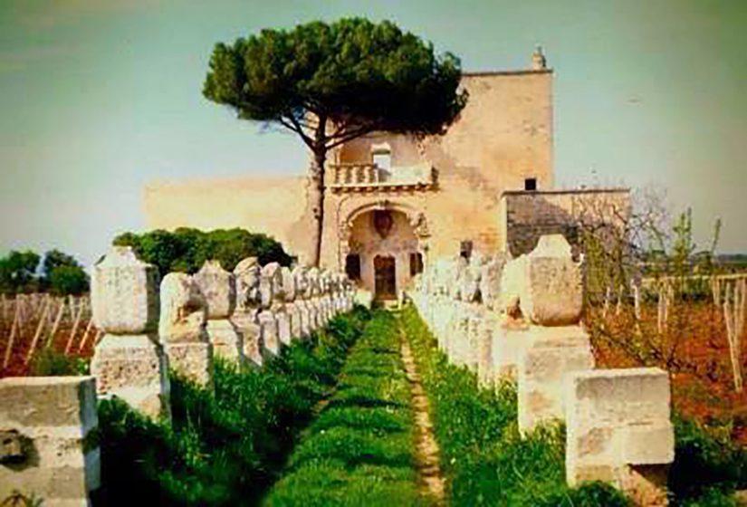 villa Scrasceta a Nardò